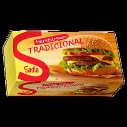 Hambúrguer Sadia Bovino Caixa 672 g