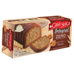 Bolo Integral de Nozes Zero Açúcar Casa Suíça 250g