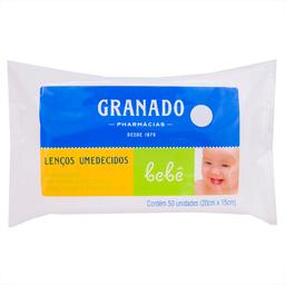 Lenço Umedecido para Bebês Granado com 50 unidades