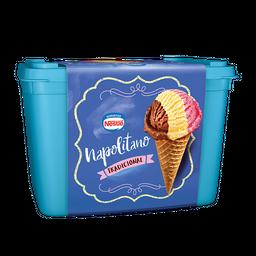 Sorvete Napolitano Especialidades Nestlé 1,5 litro