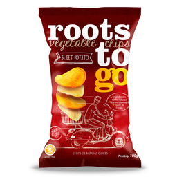 Chips Mix de Batata Doce Original Roots To Go 100g