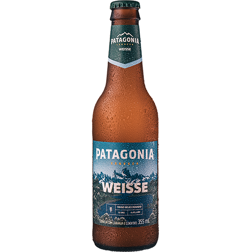 Cerveja Argentina Weisse Patagonia Long Neck 355ml