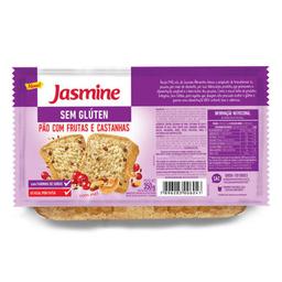 Pão com Frutas e Castanhas sem Glúten Jasmine 350g