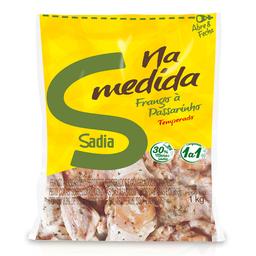 Frango à Passarinho Temperado Congelado Sadia 1kg