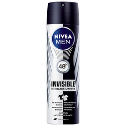 Desodorante Aerosol Black & White Nivea Men 150ml