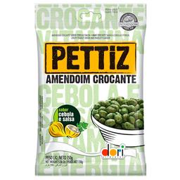 Amendoim Cebola e Salsa Crocante Dori Pettiz 150g