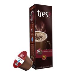 Chocolatto Tres 3 Corações com 10 Cápsulas de 11g