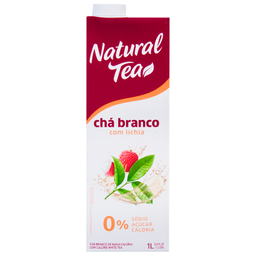 Chá Branco com Lichia Natural Tea Maguary 1 Litro