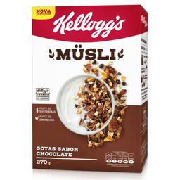 Cereal Gotas Sabor Chocolate Musli Kellogg's 270g