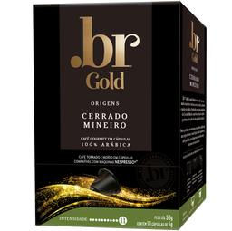 Café Cerrado Mineiro .Br Gold 50g com 10 Cápsulas
