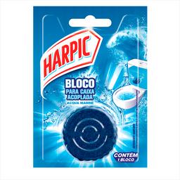 Bloco Sanitário Desodorizador Caixa Acoplada Harpic Marine 50g