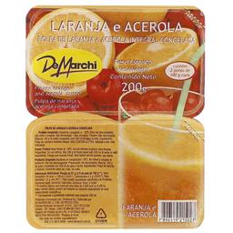 Polpa de Fruta Acerola com Laranja Demarchi 200g