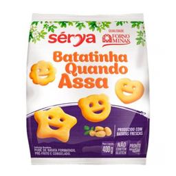 Batata Batatinha Quando Assa Forno de Minas 400g