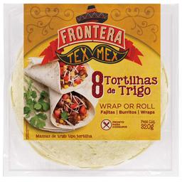 Massa para Tortilha Frontera 320g com 8 unidades
