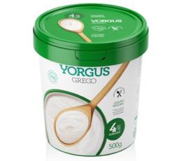 Iogurte Grego Integral 4% de Gordura Yorgus 500g