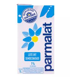 Leite Longa Vida Semidesnatado Parmalat 1 Litro