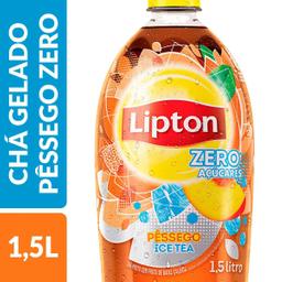 Chá Ice Tea Sabor Pêssego Zero Lipton 1,5 Litro