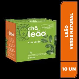Chá Leão Verde Natural - 10 Sachês