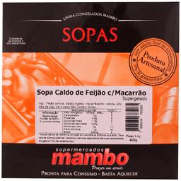Mambo Sopa de Caldo de Feijão Com Macarrão