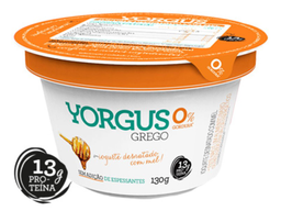 Iogurte Grego com Mel 0% de Gordura Yorgus 130g