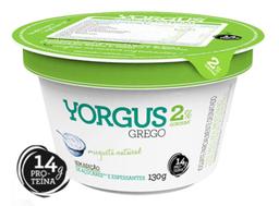 Iogurte Grego Natural 2% de Gordura Yorgus 130g
