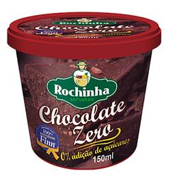 Sorvete de Chocolate Zero Açúcar Rochinha 150ml