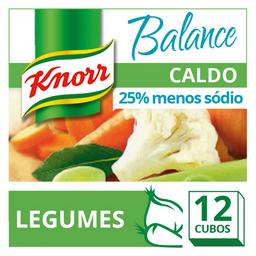 Caldo de Legumes Menos Sódio Balance Knorr 114g