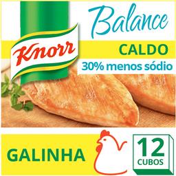 Caldo de Galinha Menos Sódio Balance Knorr 114g