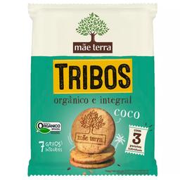 Biscoito Orgânico de Coco Tribos Mãe Terra  48g