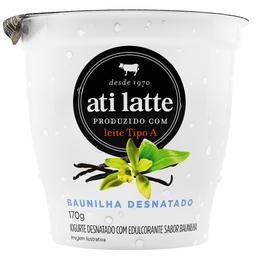 Iogurte Desnatado Sabor Baunilha Ati Latte 170g