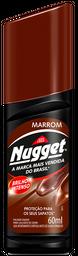 Graxa Para Calçados Líquida Marrom Nugget 60 mL