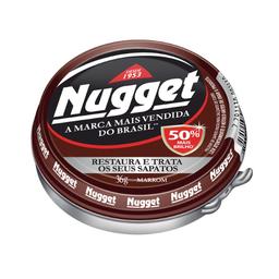 Graxa Para Calçados E Cintos Marrom Nugget 36 g