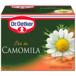 Chá de Camomila Dr. Oetker 15g com 15 unidades