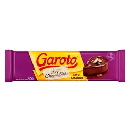 Cobertura de Chocolate Meio Amargo Garoto 500g