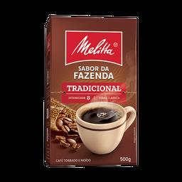 Café Sabor da Fazenda Tradicional Melitta 500g