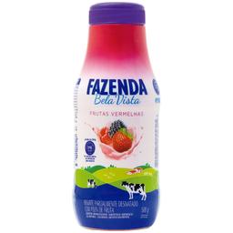 Iogurte Sabor Frutas Vermelhas Bela Vista 500g