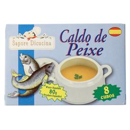 Caldo Espanhol Sabor Peixe Sapore Dicucina 80g