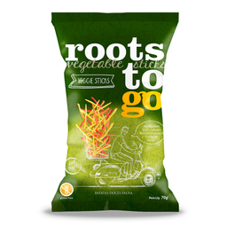 Chips Mix de Batata Doce Palha Roots To Go 70g