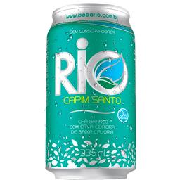Chá Branco Com Capim Santo Zero Rio Lata