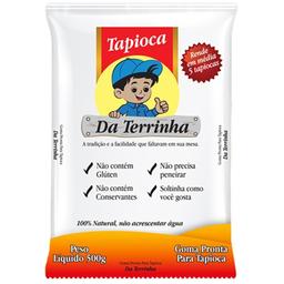Goma de Mandioca para Tapioca Da Terrinha 500g