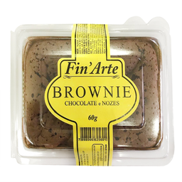 Mini Brownie Chocolate com Nozes Fin' Arte 60g