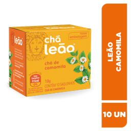 Chá Leão Camomila - 10 Sachês