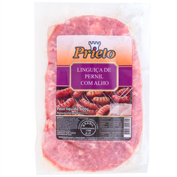 Linguiça Suína de Pernil com Alho Prieto 600g
