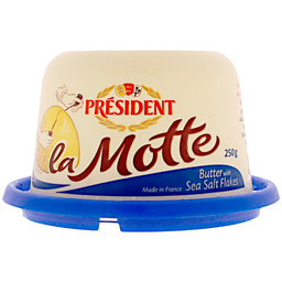 Manteiga com Sal La Motte Président Pote 250g