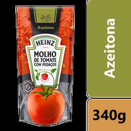 Molho de Tomate Heinz Azeitona Sachê 340g
