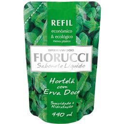 Refil Sabonete Líquido Hortelã Fiorucci 440ml