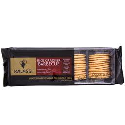 Biscoito de Arroz Sabor Barbecue Kalassi 100g