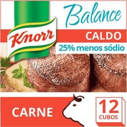 Caldo de Carne Menos Sódio Balance Knorr 114g