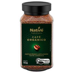 Café Solúvel Liofilizado Orgânico Native 90g
