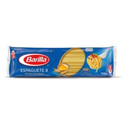 Macarrão Espaguete Nº8 com Ovos Barilla 500g